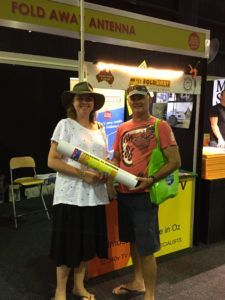 Foldaway Antenna Queensland - Happy Customers Gallery